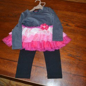 2T girls 2 pice outfit